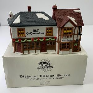 """Department 56 """"the old curiosity shop """"1987"""